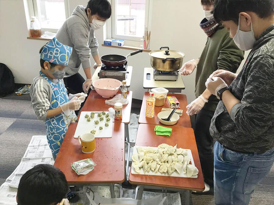 キリアン調理実習~豚汁と餃子編5