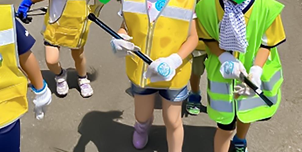 地域清掃~西区で一番綺麗な町内会を目指して!!