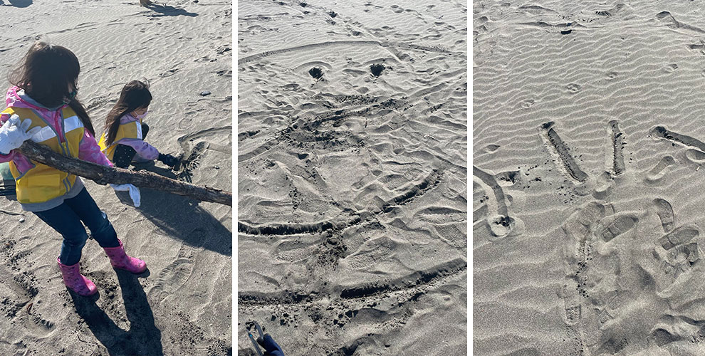 秋のビーチクリーンinおたるドリームビーチ2